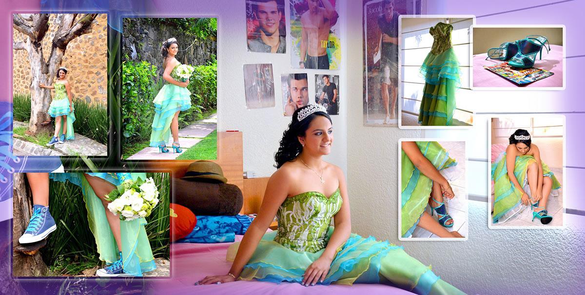 Photobook de XV Años - Miriam Villegas Fotografía & Video