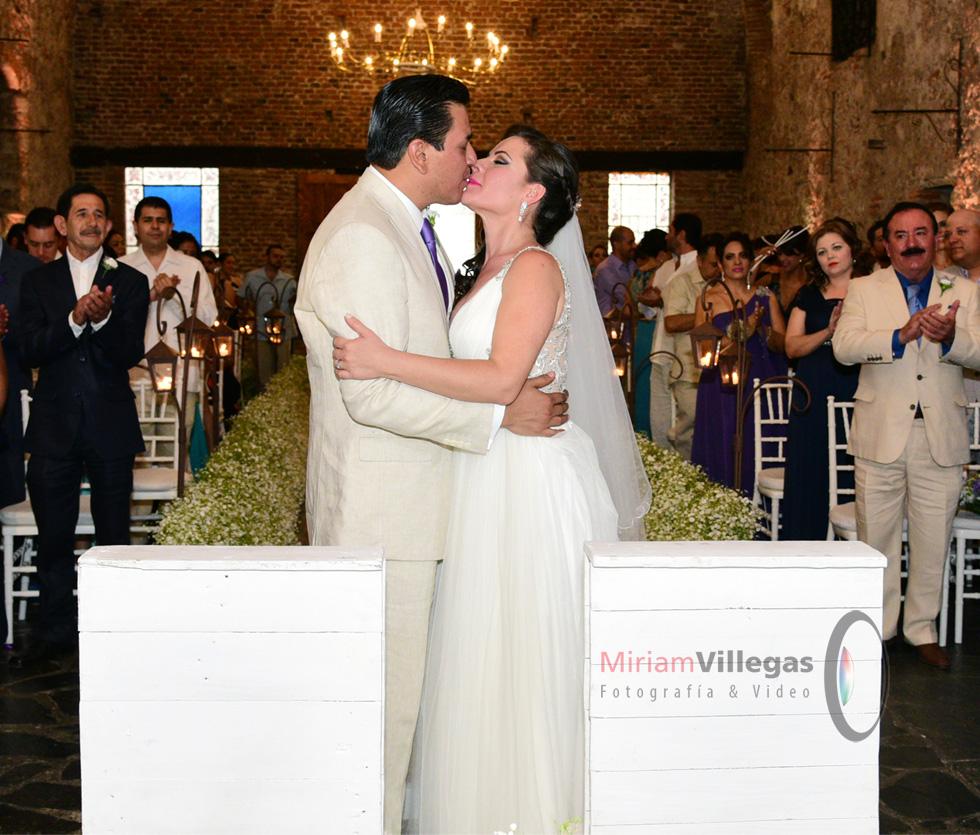 Foto de la ceremonia de la boda - Miriam Villegas Fotografía & Video