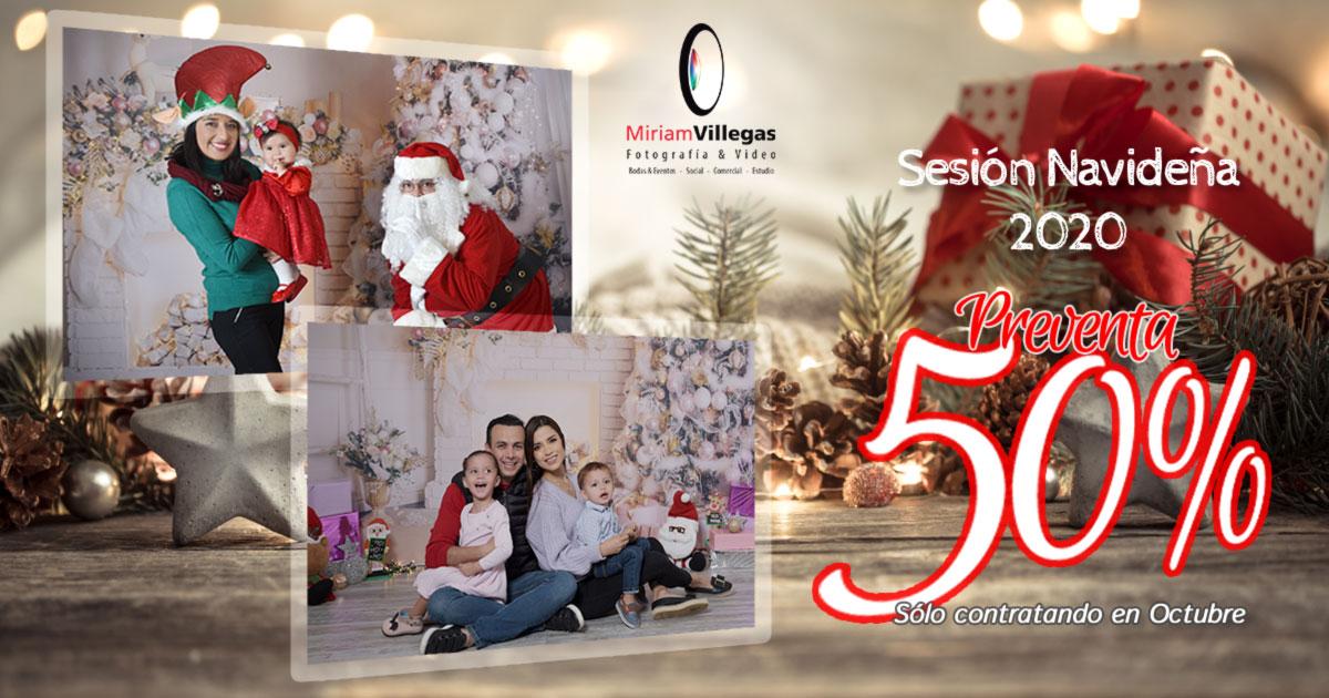 Sesión Fotográfica Navideña 2020 - Miriam Villegas Fotografía